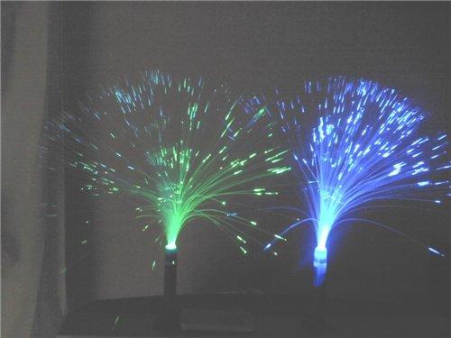 쇼핑백과 :: 스탠드형 광섬유 무드조명 인테리어 led 카페램프 ...