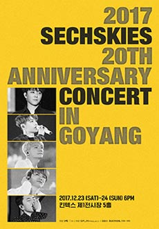 2017 SECHSKIES 20TH ANNIVERSARY CONCERT TOUR IN GOYANG