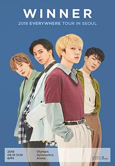 WINNER 2018 EVERYWHERE TOUR IN SEOUL 티켓오픈 안내
