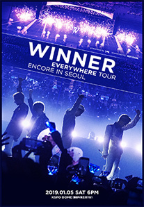 WINNER EVERYWHERE TOUR ENCORE IN SEOUL 티켓오픈 안내