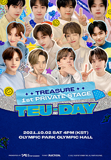 TREASURE 1ST PRIVATE STAGE [TEU-DAY] 티켓 오픈 안내 (+ENG/JPN/CHN)